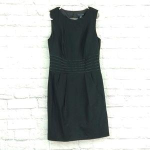 Banana Republic | Black Sheath Sleeveless Dress